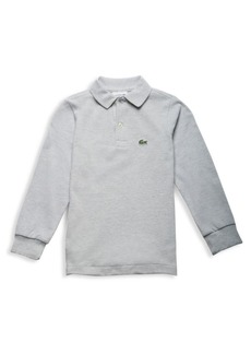 Lacoste Little Boy's & Boy's Long-Sleeve Ribbed Collar Sweater