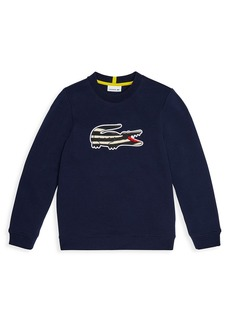 Lacoste Little Boy's & Boy's National Geographic Crewneck Pullover
