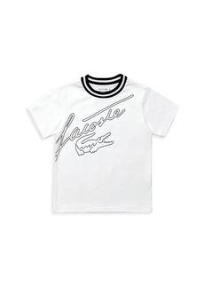 Lacoste Little Boy's & Boy's Print Cotton T-Shirt