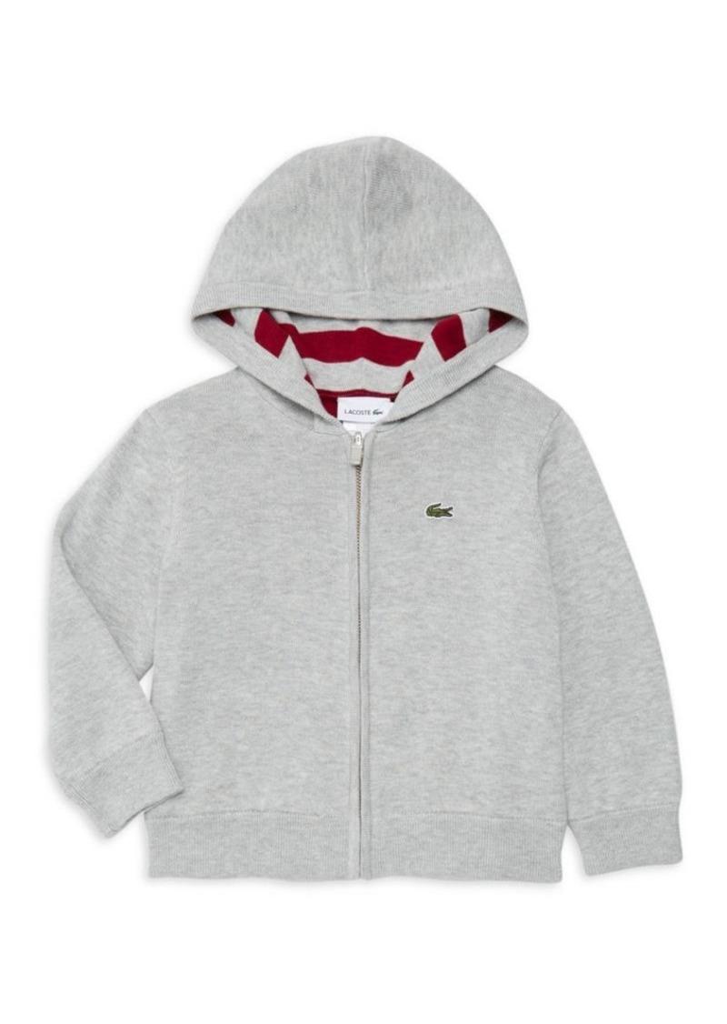 Lacoste Little Boy's & Boy's Reversible Zip Hoodie