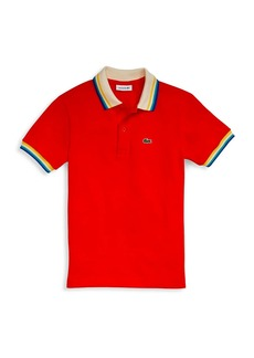 Lacoste Little Boy's & Boy's Striped Polo
