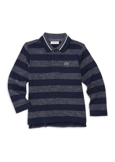 Lacoste Little Boy's & Boy's Striped Polo Shirt