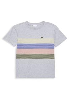 Lacoste Little Boy's & Boy's Striped T-Shirt