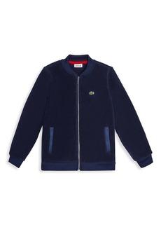 Lacoste Little Boy's & Boy's Teddy Fleece Bomber Jacket