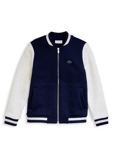 Lacoste Little Boy's & Boy's Varsity Jacket
