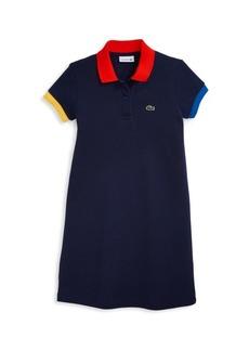Lacoste Little Girl's & Girl's Polo Shirt Dress