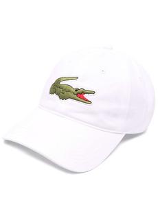 Lacoste logo embroidered baseball cap