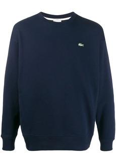 Lacoste logo-embroidered sweatshirt