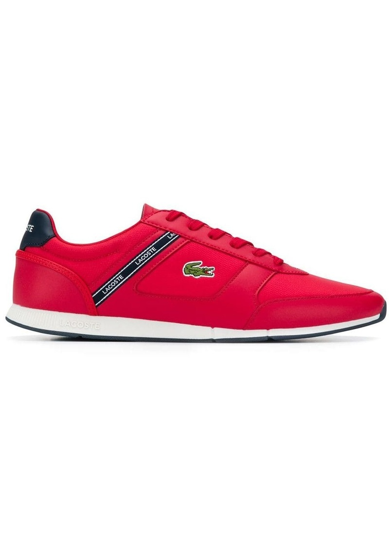 Lacoste logo patch sneakers