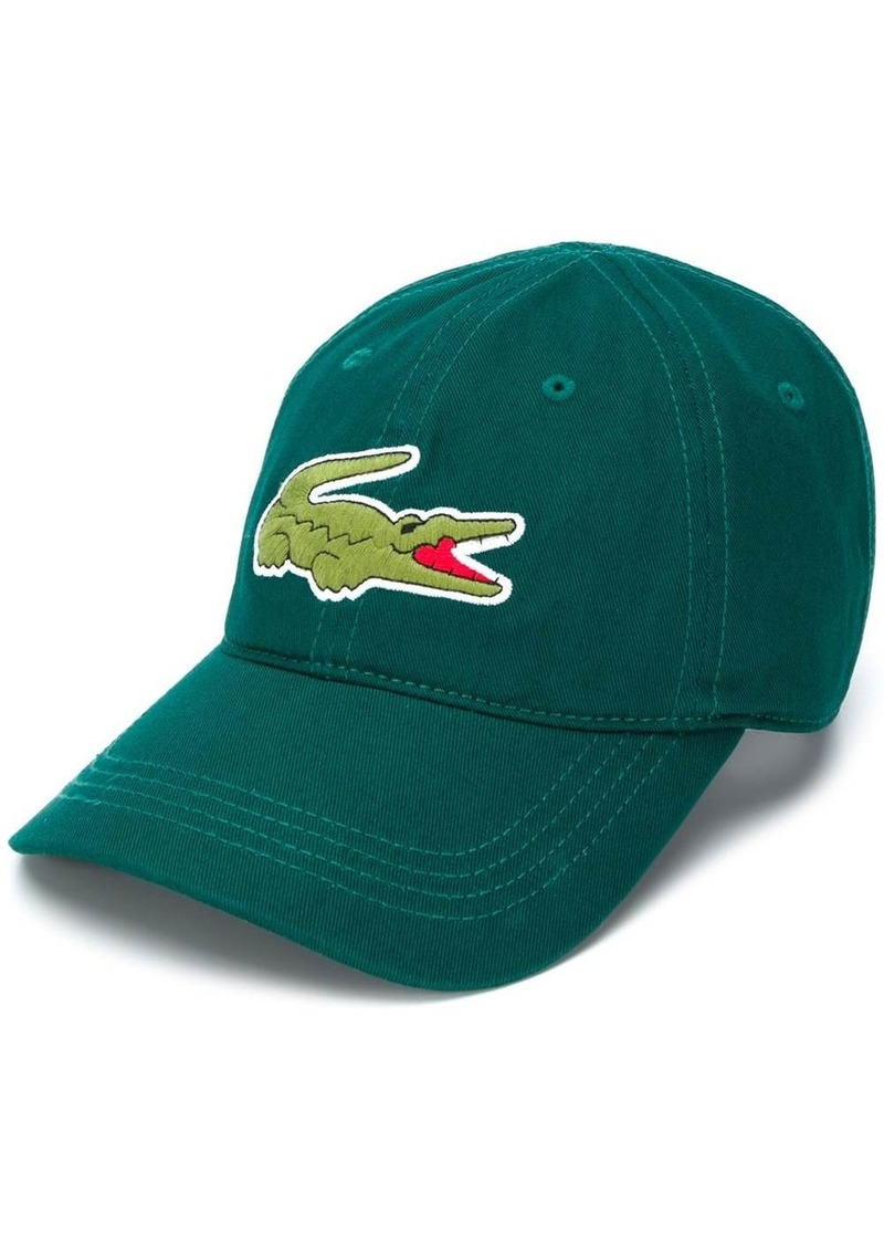 Lacoste logo print baseball cap