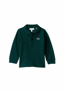 Lacoste Long Sleeve Classic Pique Polo (Infant/Toddler/Little Kids/Big Kids)