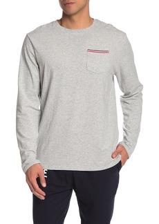 Lacoste Long Sleeve Crew Neck Lounge T-Shirt