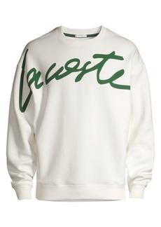 Lacoste L!VE New Script Logo Sweatshirt