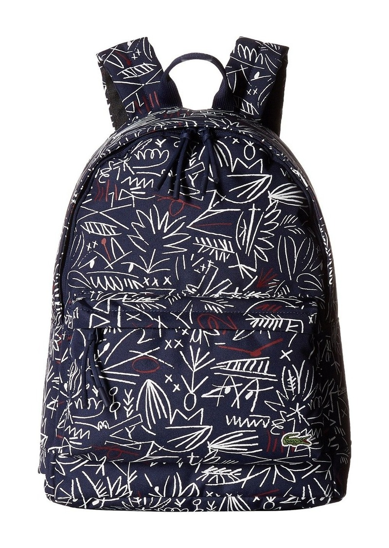 8554c8764c9498 On Sale today! Lacoste Neocroc Graphic Canvas Backpack