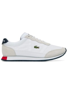 Lacoste panelled sneakers