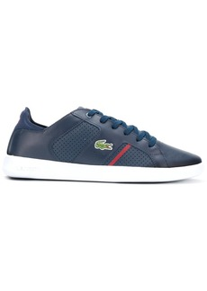 Lacoste perforated sneakers