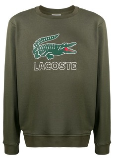 Lacoste printed logo jumper