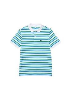 Lacoste Short Sleeve Classic Big Stripes Polo (Infant/Toddler/Little Kids/Big Kids)