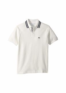 Lacoste Short Sleeve Collar Detail Polo (Infant/Toddler/Little Kids/Big Kids)