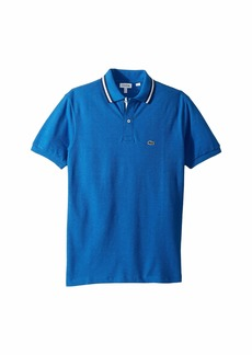 Lacoste Short Sleeve Collar Detail Polo (Infant/Toddler/Little Kids/Big Kids)