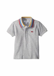 Lacoste Short Sleeve Semi Fancy Pique Polo (Infant/Toddler/Little Kids/Big Kids)