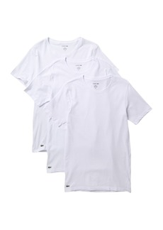Lacoste Slim Fit Crew Neck Tee - Pack of 3