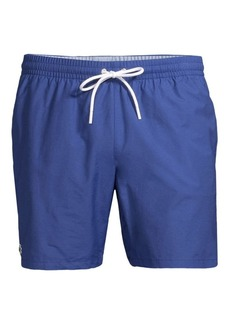 4141572d79f92e Lacoste Lacoste Boys  Seersucker Swim Trunks - Little Kid