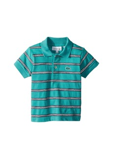 Lacoste Striped Cotton Mini Pique Polo (Infant/Toddler/Little Kids/Big Kids)