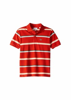 Lacoste Summer Lover Striped Pique Polo (Infant/Toddler/Little Kids/Big Kids)