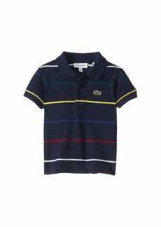 Lacoste Thin Multicolor Stripes Polo (Infant/Toddler/Little Kids/Big Kids)