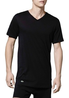 Lacoste Three-Pack Cotton V-Neck Tee