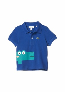 Lacoste Until 8 Fun Croc Polo (Infant/Toddler/Little Kids/Big Kids)