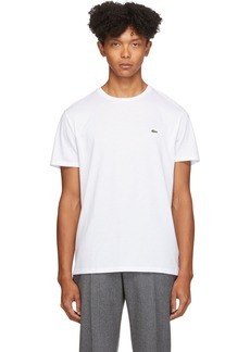 Lacoste White Pima Cotton T-Shirt