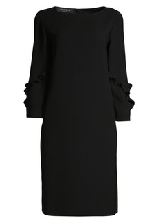 Lafayette 148 Abigail Finesse Crepe Dress