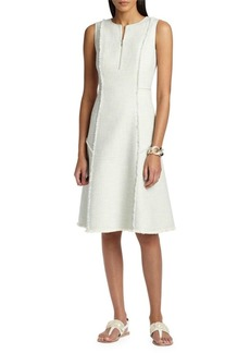 Lafayette 148 Adrian Tweed A-Line Dress