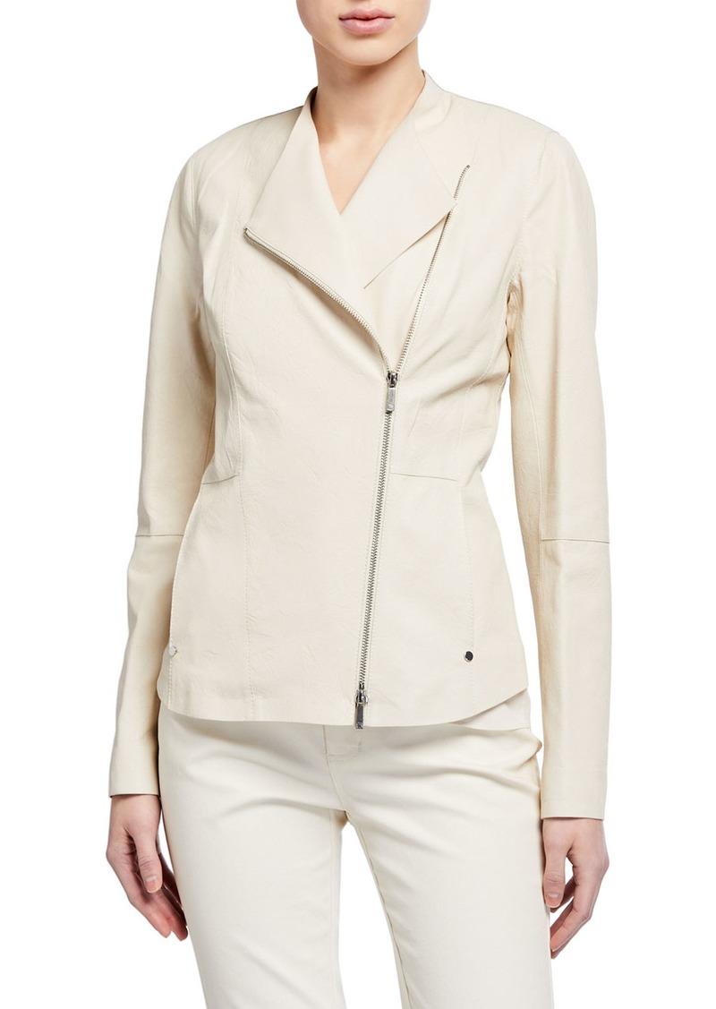 Lafayette 148 Aime Leather Jacket