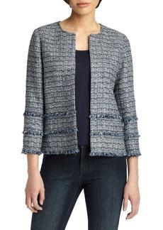 Lafayette 148 Aisha Tweed Jacket
