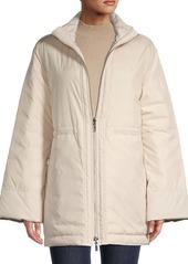 Lafayette 148 Alpine Outerwear Reversible Puffer Coat