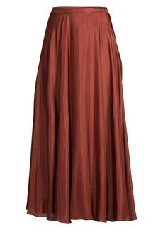 Lafayette 148 Ambria Silk Maxi Skirt