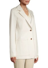 Lafayette 148 Annmarie Stretch Cotton Jacket