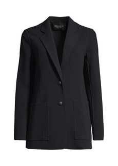 Lafayette 148 Annmarie Stretch Virgin-Wool Jacket