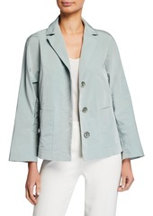 Lafayette 148 Ansel Empirical Tech Cloth Jacket