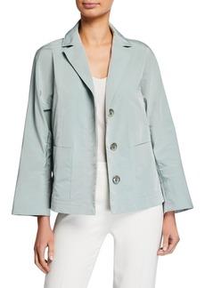 Lafayette 148 Ansel Empirical Tech Cloth Jacket
