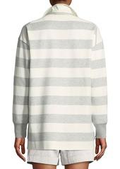 Lafayette 148 Antonia Laszlo Stripe Rugby Shirt