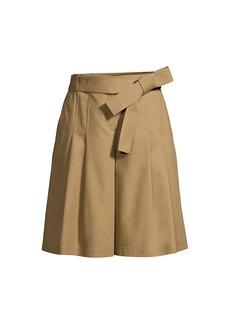 Lafayette 148 Arthur Pleated Tie Shorts