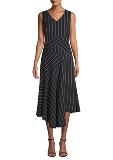 Lafayette 148 Ashlena Asymmetric Dress