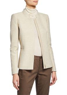 Lafayette 148 Ashton Textured Jacket