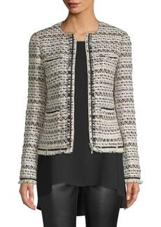 Lafayette 148 Benji Tweed Jacket