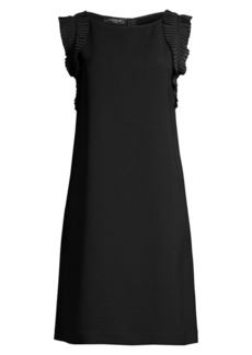 Lafayette 148 Bisley Ruffled Shift Dress