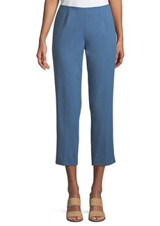 Lafayette 148 Bleecker Cropped Fundamental Bi-Stretch Pants